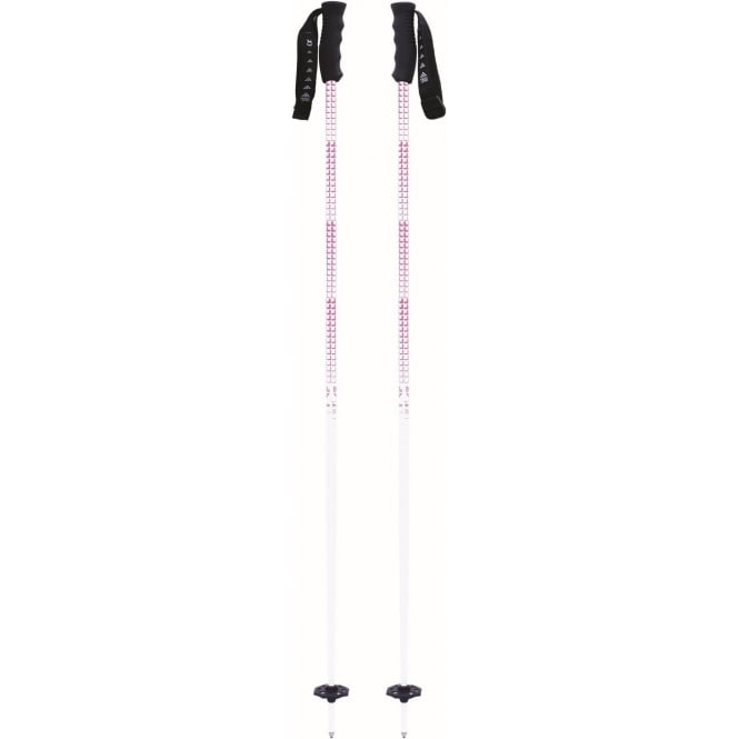 Black Crows Firmo Poles - White/Pink
