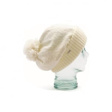 Beanie The Lilly - White