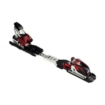 Ski Race Bindings X18 (10-18 DIN) Red/Black
