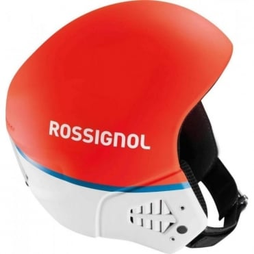 Race Hero 9 Helmet - Red/White - FIS Approved