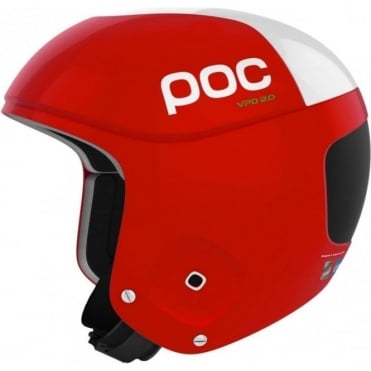 Skull Orbic Comp Helmet - Red ( FIS Approved )