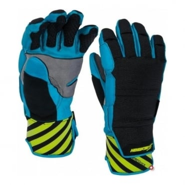 Fortress Race Fingers - Black/Blue