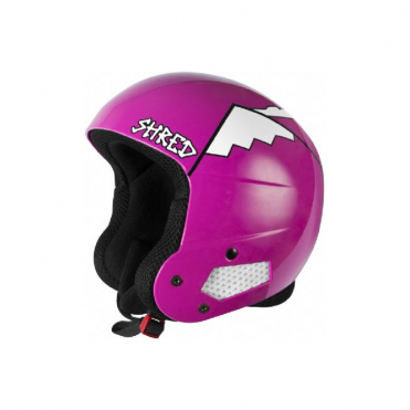 Brain Bucket Helmet - Why We Shred Pink (Non FIS)