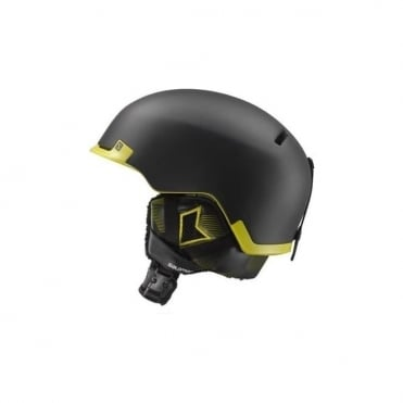 Hacker Helmet - Black/Green