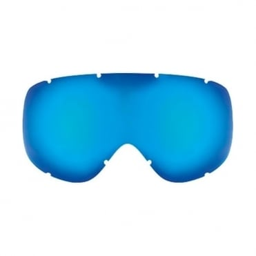 Racer Goggle Spare/Replacement Lens - Blue (Double)