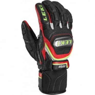 World Cup Tiitanium Trigger-S Racing Glove - Black/Red