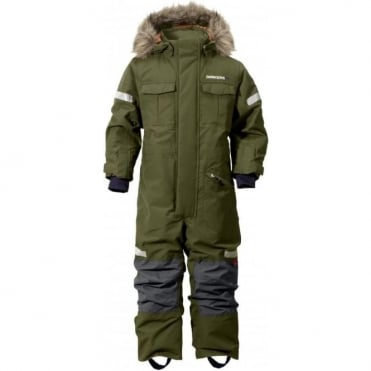 Kids One Piece Migisi - Peat Green