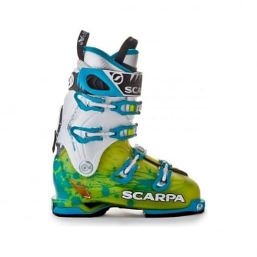 Womens Touring Ski Boot Freedom SL - Green/Blue