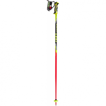 Slalom Race Poles World Cup with Trigger - S - Black/Red