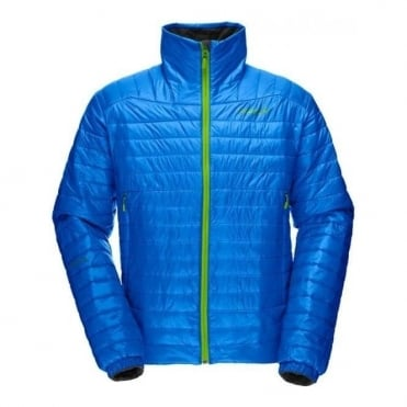 Mens Mid Layer Falketind Primaloft 60 Jacket - Electric Blue