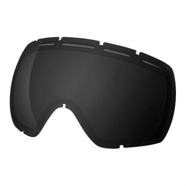 Stupefy Double Goggle Lens - Stealth Reflect Smoke/Black
