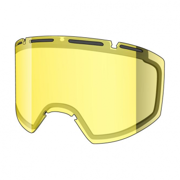 Amazify Double Goggle Lens - Yellow