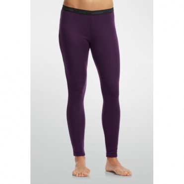 Wmns Layer Everyday Leggings - Vino Red