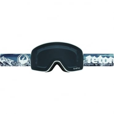 Nfx2 Goggles - Tgr Collab / Dark Smoke + Yellow Blue Ion Bonus Lens