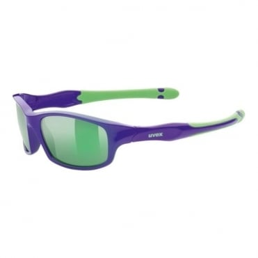 Uvex Junior Sunglasses Sportstyle 507 Lilac/Green