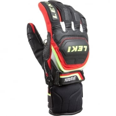 Worldcup Race Coach Flex S GTX Gloves (Trigger-S Compatible) - Black/ Red