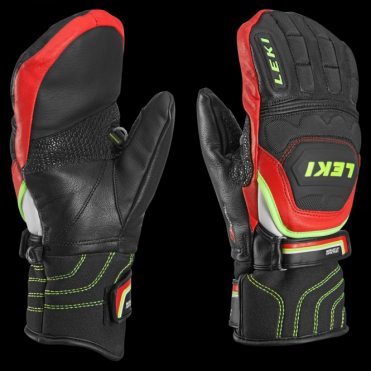 Junior WC Race Flex S Race Mittens - Black/Red/Yellow (Trigger-S Compatible)