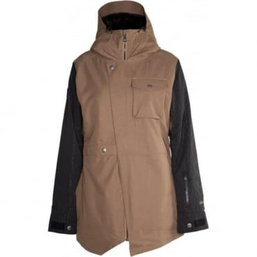 Wmns Helena Insulated Jacket - Black / Bronze
