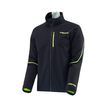 Race Team Training Jacket - Black/Green