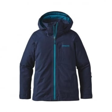 Wmns Insulated Powder Bowl Jacket - Blue Navy