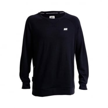 Men's Merino Covert Tech Sweat - Black