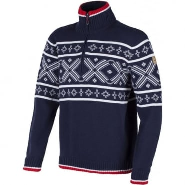 Campagnolo Knitted 1/2 Zip Windstopper Jumper