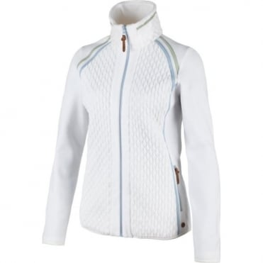 Campagnolo Quilted Fleece Full Zip - White
