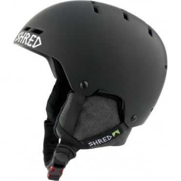 Helmet Bumper No Shock Warm - Blackout Black