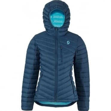 Wmns Insuloft Featherless Down Jacket - Eclipse Blue
