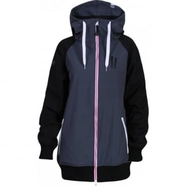 Wmns Reuninon Soft Shell Jacket - Grey