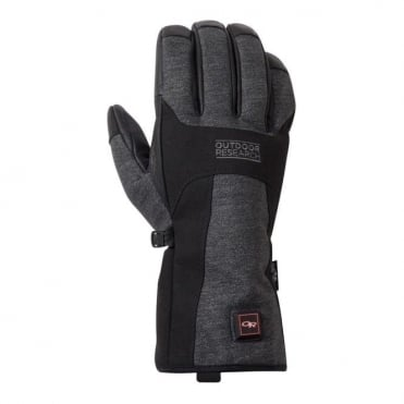 Oberland Heated Glove - Black/Charcoal
