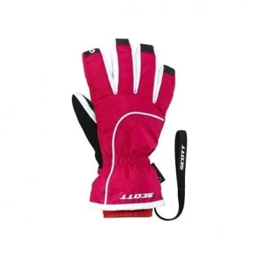 Junior Ultimate Premium Gtx Gloves - Cerise Pink/White