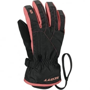 Junior Ultimate Premium Gloves - Black/ Pink