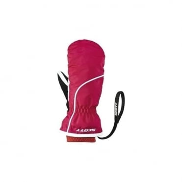 Junior Ultimate Premium Gtx Mitten - Cerise Pink/White