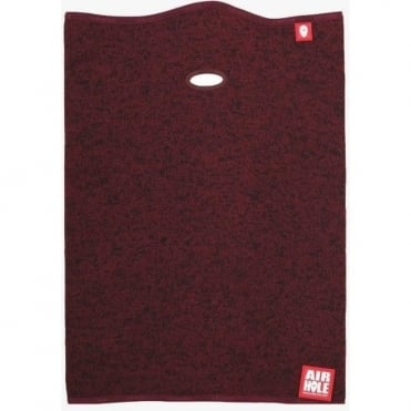 Airtube Ergo Sweater Knit Neck/face Warmer - Heather Arbutus Burgundy