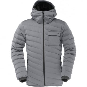 Mens Tamok Light Weight Down 750 Jacket - Mercury Grey