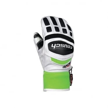 Junior R-TEX XT Race Mittens - White/Green