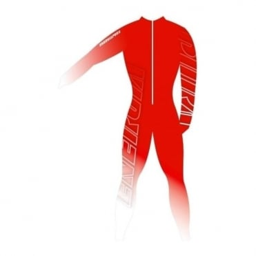 Adult Unpadded Race Catsuit Lycra BOLD Red