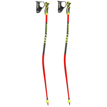 Junior Race Poles World Cup Lite Trigger S GS - Red/Black