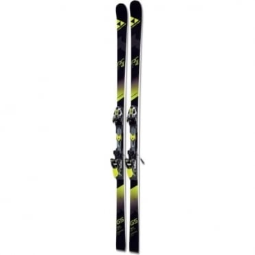 Fischer RC4 WC/EC GS Curve Booster Skis - 193cm Skis Only (2018)