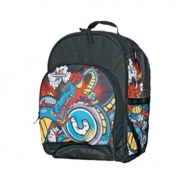 Ski Team Backpack 45L - Black/Multicolor