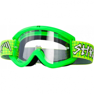 Shred Soaza Dirt Bike Goggle - ZeroZero with Clear + Yellow + Blue Lens