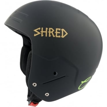 Basher Race Helmet Noshock Blackout - Black (FIS Approved)
