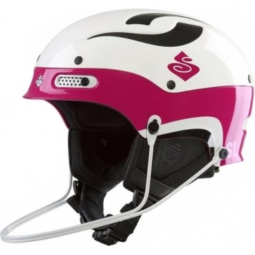 Trooper SL Helmet - Gloss White /Gloss Pink