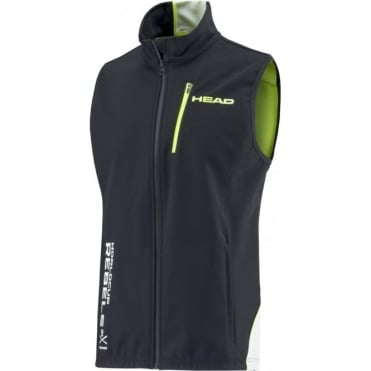 Race Team Softshell Training Vest Black/White