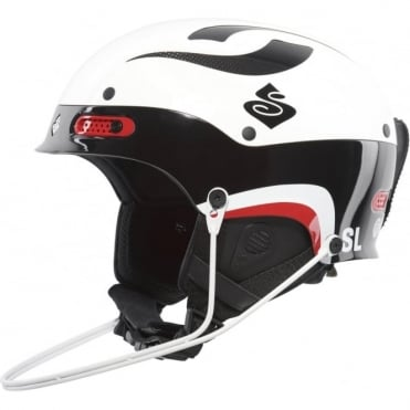 Trooper SL Helmet - Goss White / Black