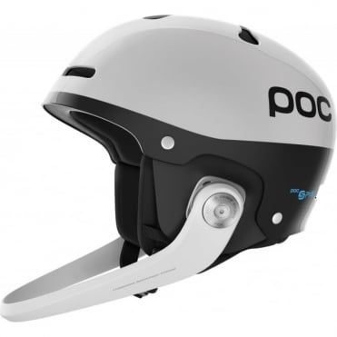Artic SL SPIN Slalom Race Helmet + Guard Hydrogen White