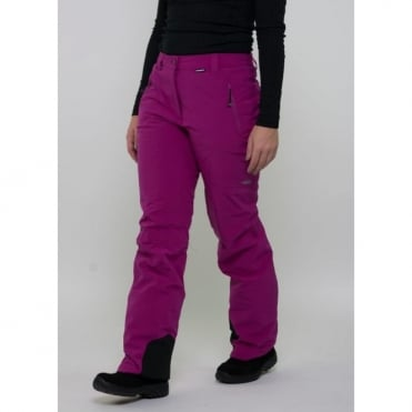 Tech Trouser Wmn Ice Peak W Pant Noelia Stretch Pant Purple