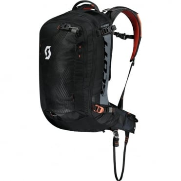 Scott Backcountry Guide AP 30 Backpack Kit - Black/Burnt Orange
