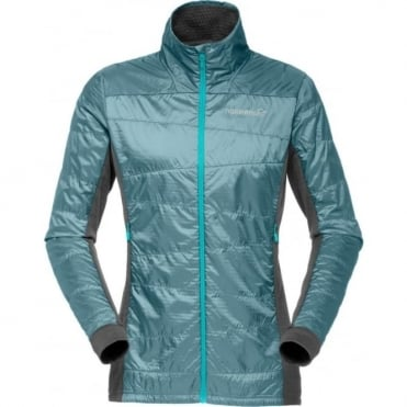 Norrona falketind Alpha60 Women's Jacket - Bluegrass
